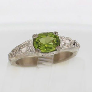 Magee Jewelry Sterling Silver Collection - Original Peridot in Sterling Silver Ring