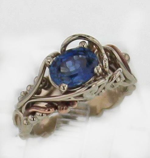 14kw Sapphire 1.43 Carats $1,167