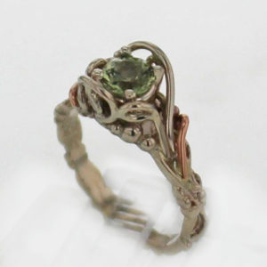 14kw Mint Tourmaline Ring 599