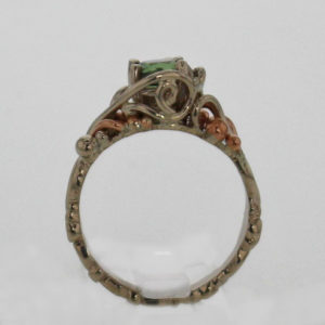 14kw Gold and Natural Alexandrite Ring 1927
