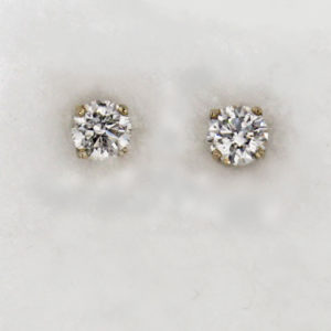 14kw Gold and Diamond Studs $5,839