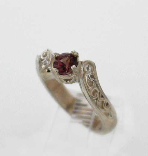 Sterling Silver and Spinel