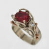 14kw Tourmaline and Diamond Ring