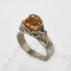 14k White Gold & Golden Topaz Ring $1,127
