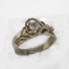 14kw Gold Diamond Ring $1057