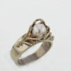 14kw Gold and Pearl Ring $687
