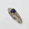 Sterling Silver and Iolite Ring $147