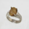 SS Rutilated Quartz Ring