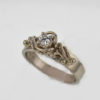 14kw Gold and Mine Cut Diamond Ring $867